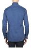 SBU 01828_19AW Chemise oxford en coton bleu classique 05