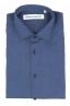 SBU 01828_19AW Chemise oxford en coton bleu classique 06