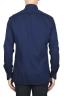 SBU 01829_19AW Camisa oxford clásica de algodón azul marino 05