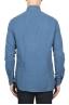 SBU 01832_19AW Classic blue cotton twill shirt 05