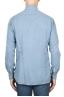 SBU 01833_19AW Classic light blue cotton twill shirt 05