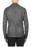 SBU 01836_19AW Chaqueta deportiva de mezcla de lana gris desestructurada y sin forro 05