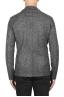 SBU 01836_19AW Veste de sport en laine mélangée gris déstructurés et sans doublure 05