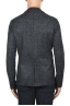 SBU 01837_19AW Black wool blend sport blazer unconstructed and unlined 05
