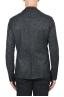 SBU 01837_19AW Chaqueta deportiva de mezcla de lana negra desestructurada y sin forro 05