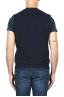 SBU 01851_19AW Maglia gilet cardigan in lana merino e cashmere blu 05
