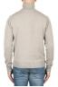 SBU 01854_19AW Beige roll-neck sweater in wool cashmere blend 05