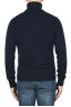 SBU 01855_19AW Blue roll-neck sweater in wool cashmere blend 05