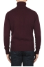 SBU 01858_19AW Red roll-neck sweater in wool cashmere blend 05
