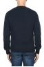 SBU 01863_19AW Jersey con cuello redondo en mezcla de alpaca y lana azul 05