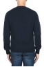 SBU 01863_19AW Maglia girocollo in lana misto alpaca blue 05