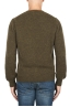 SBU 01868_19AW Green alpaca and wool blend crew neck sweater 05