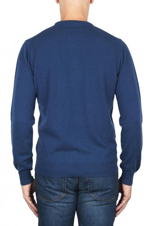 SBU 01869_19AW ブルーアビオンピュアカシミアクルーネックセーター 01