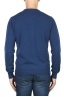 SBU 01869_19AW Blue avion pure cashmere crew neck sweater 05