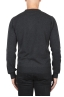SBU 01871_19AW Anthracite pure cashmere crew neck sweater 05