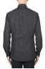 SBU 01889_19AW Camisa de algodón estampado floral marrón 05
