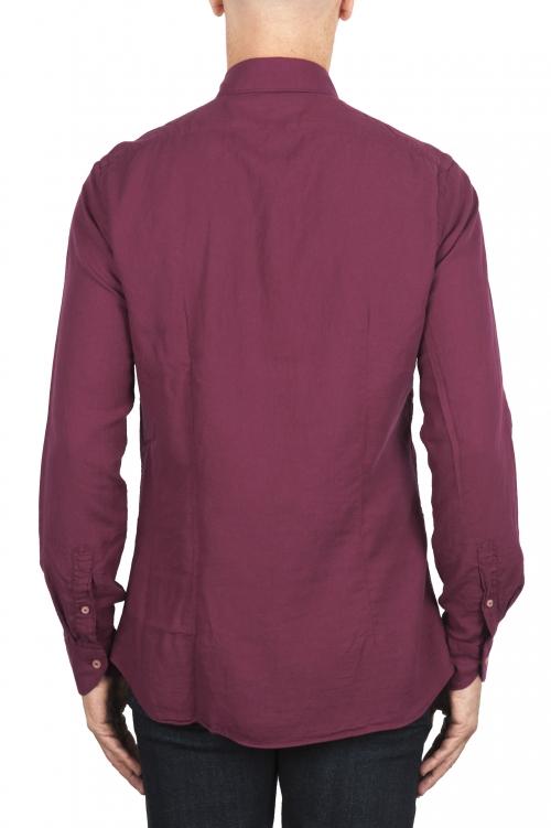 SBU 01890_19AW Camisa de sarga de algodón gris 01