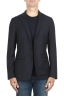 SBU 01894_19AW Blue cool wool jacket unconstructed and unlined 01