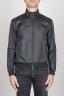 SBU - Strategic Business Unit - Windbreaker Jacket In Black Ultra Lightweight Nylon