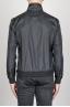 Windbreaker Jacket In Black Ultra Lightweight Nylon