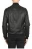 SBU 01903_19AW Black leather bomber jacket 05