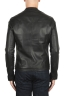 SBU 01904_19AW Black leather motorcycle jacket 05