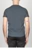 SBU - Strategic Business Unit - Classic V Neck Cotton Knit Grey Sleeveless Sweater Vest