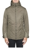 SBU 01555_19AW Technical waterproof padded short parka jacket green 01