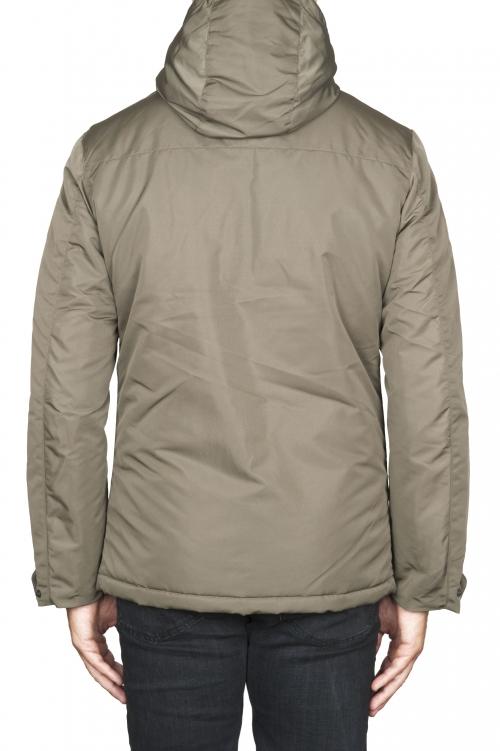 SBU 01555_19AW 技術的な防水パッディングショートパーカージャケット 01