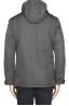 SBU 01556_19AW Technical waterproof padded short parka jacket grey 05