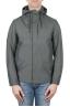 SBU 01559_19AW Technical waterproof hooded windbreaker jacket grey 01