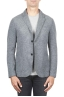 SBU 01336_19AW Grey wool blend sport jacket unconstructed and unlined 01