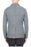 SBU 01336_19AW Chaqueta deportiva gris en mezcla de lana desestructurada y sin forro 05