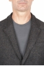 SBU 01442_19AW Brown wool blend sport jacket unconstructed and unlined 04