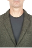 SBU 01443_19AW Green wool blend sport jacket unconstructed and unlined 04