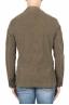 SBU 01447_19AW Blazer de sport vert en coton stretch non structuré ni doublé 05