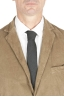 SBU 01550_AW19 Blazer y pantalón de traje deportivo de pana elástico beige 05