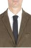 SBU 01552_19AW Abito in velluto elasticizzato a coste verde completo di giacca e pantalone 05