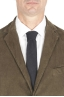 SBU 01552_19AW Blazer y pantalón de traje deportivo de pana elástico verde 05