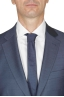 SBU 01050_19AW Blazer y pantalón formal de lana fresca azul para hombre 05