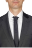 SBU 01052_19AW Blazer et pantalon de costume noir en fresco de laine pour hommes 05