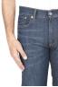 SBU 01448_19AW Stone washed organic cotton denim blue jean 05