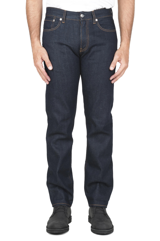 SBU 01449_19AW Bleu jeans délavé japonais à lisière japonaise 01