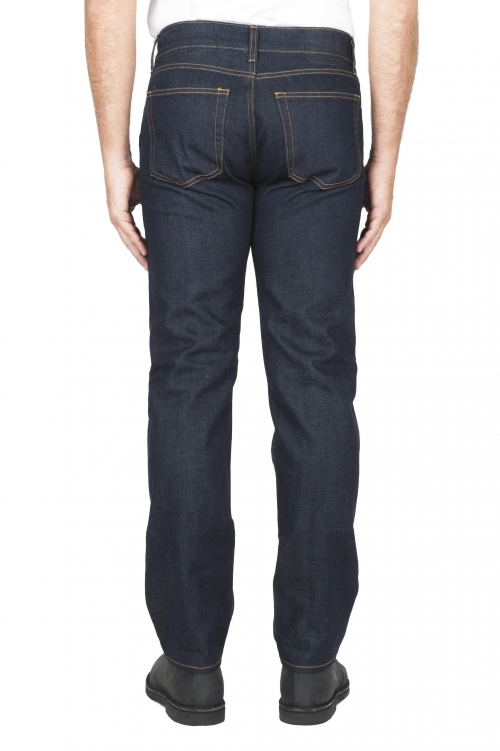 Jeans cimosa indaco