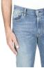 SBU 01450_19AW Teint pur indigo délavé coton stretch bleu jeans  04