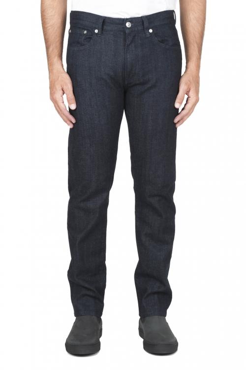 Jeans stretch à lisière