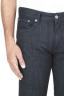 SBU 01451_19AW Coton stretch japonais teinté indigo naturel  délavé jeans Denim 04