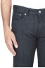 SBU 01451_19AW Jeans elasticizzato indaco naturale denim giapponese cimosato 04