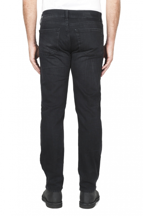 Jeans stretch teint noir