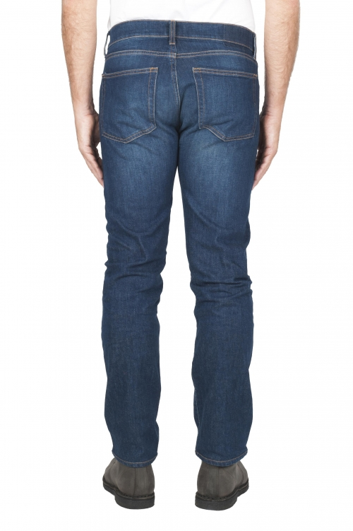 Jeans délavé effet usé